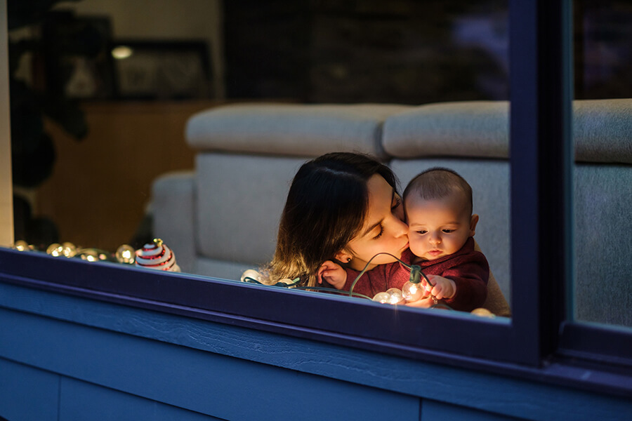 Lifestyle Loans mother with child